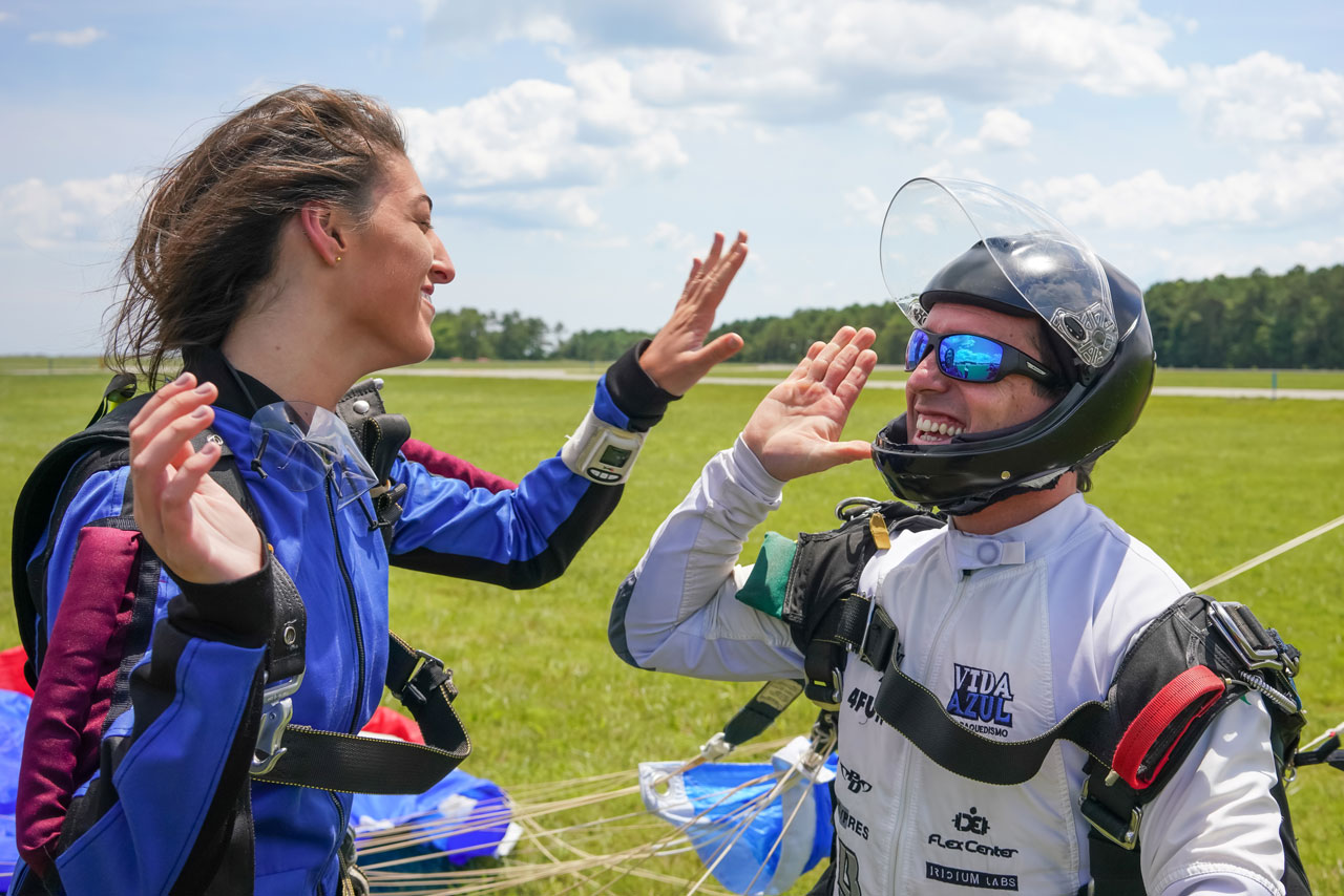 Overcoming Fear of Skydiving