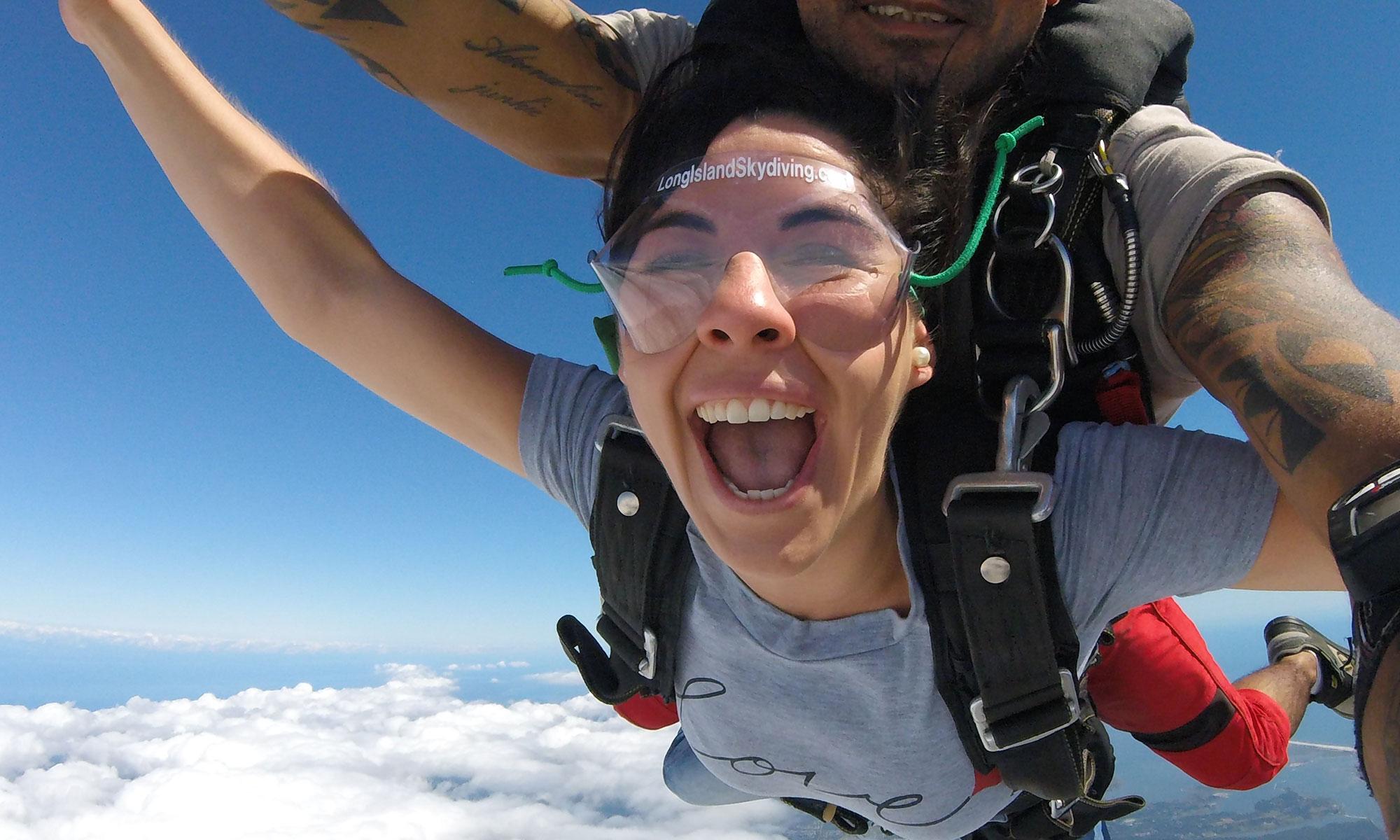 Skydiving speed