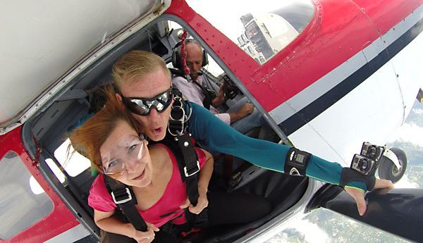 Skydiving Exit Techniques