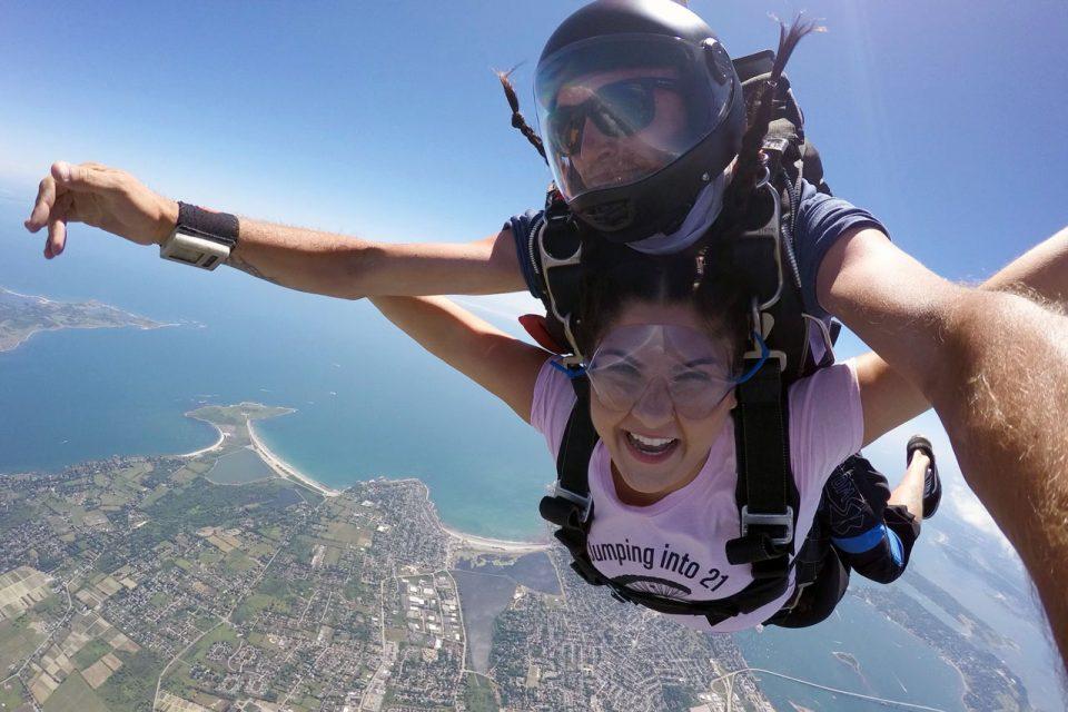 skydiving near newark