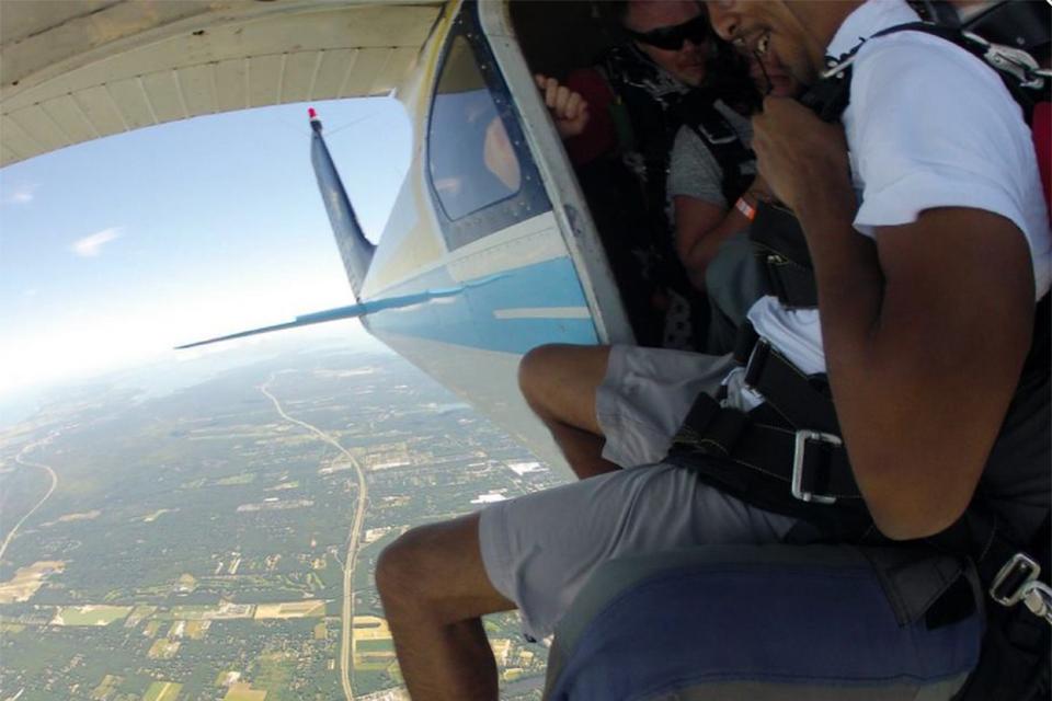 Skydiving Jump